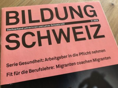 Bildung Schweiz